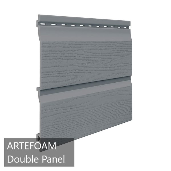 Artefoam Double PVC Foam Cladding Panel