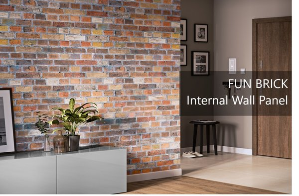 Fun Brick Internal Wall Panel