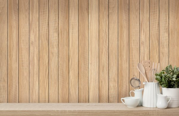 Wood Effect Cladding - Natural Plank
