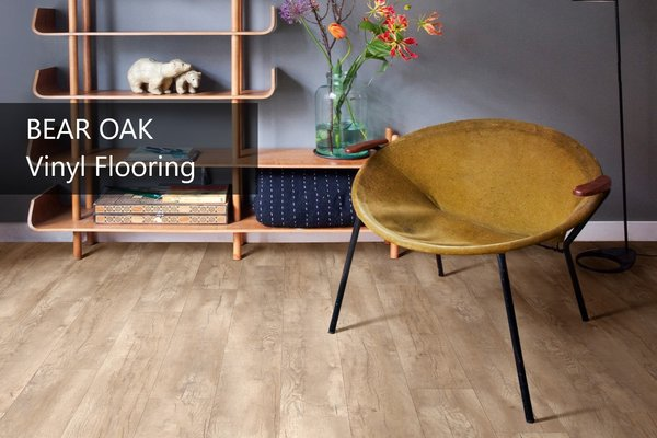Vinyl Floor Tile - Bear Oak
